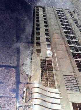 Downtown Building Cobblestone