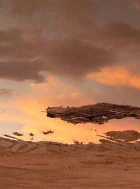 Sand & Sunset Clouds