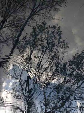 Winter Sky Ripples