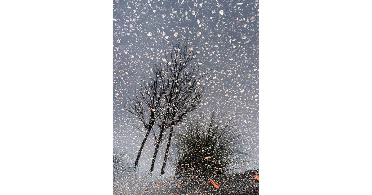 Snowy Sky Asphalt