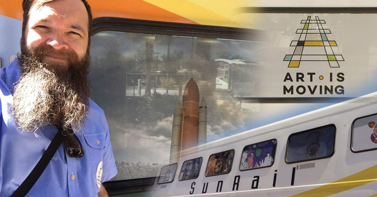 Heard About SunRail's Art Is Moving Project?