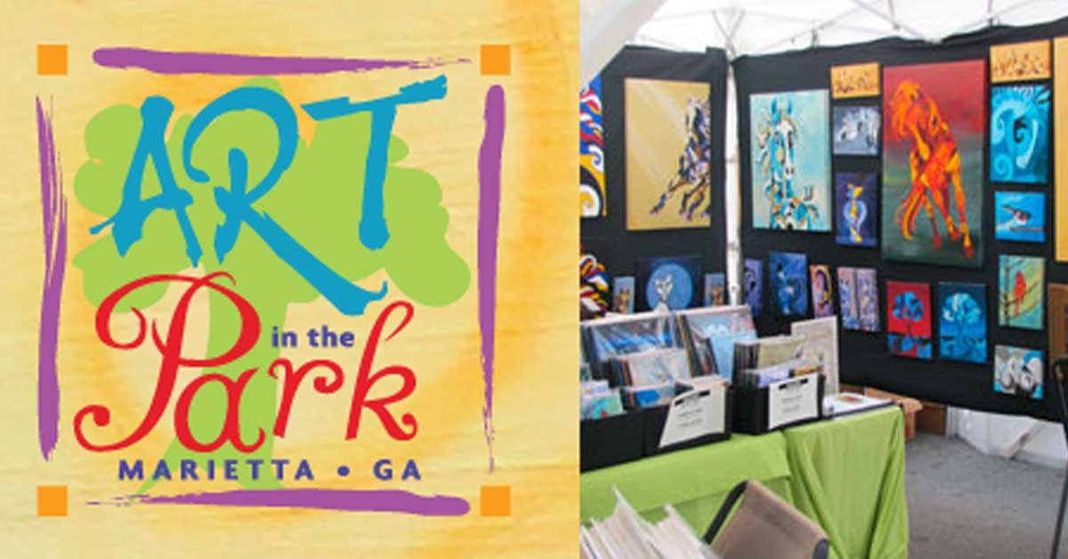 Marietta Art in the Park – Labor Day Weekend
