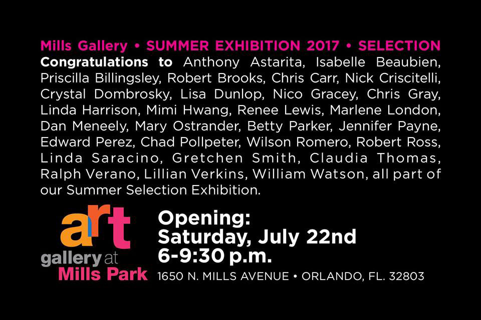 Art Gallery at Mills Park – Summer Exhibition 2017