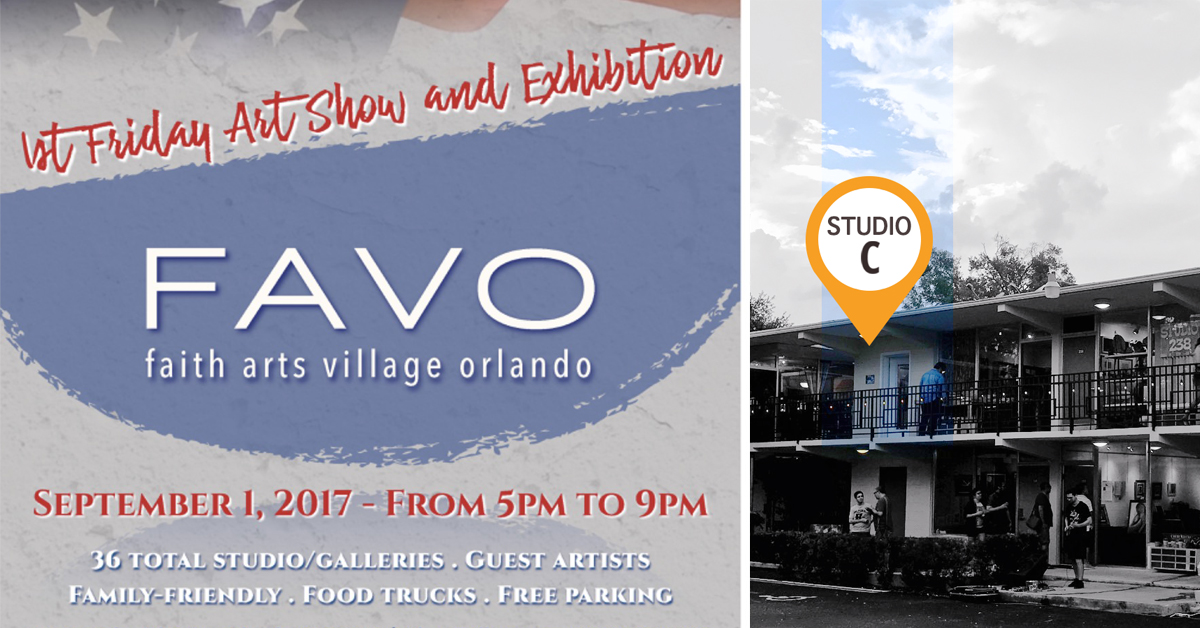 FAVO 1st Friday Art Show – Studio C