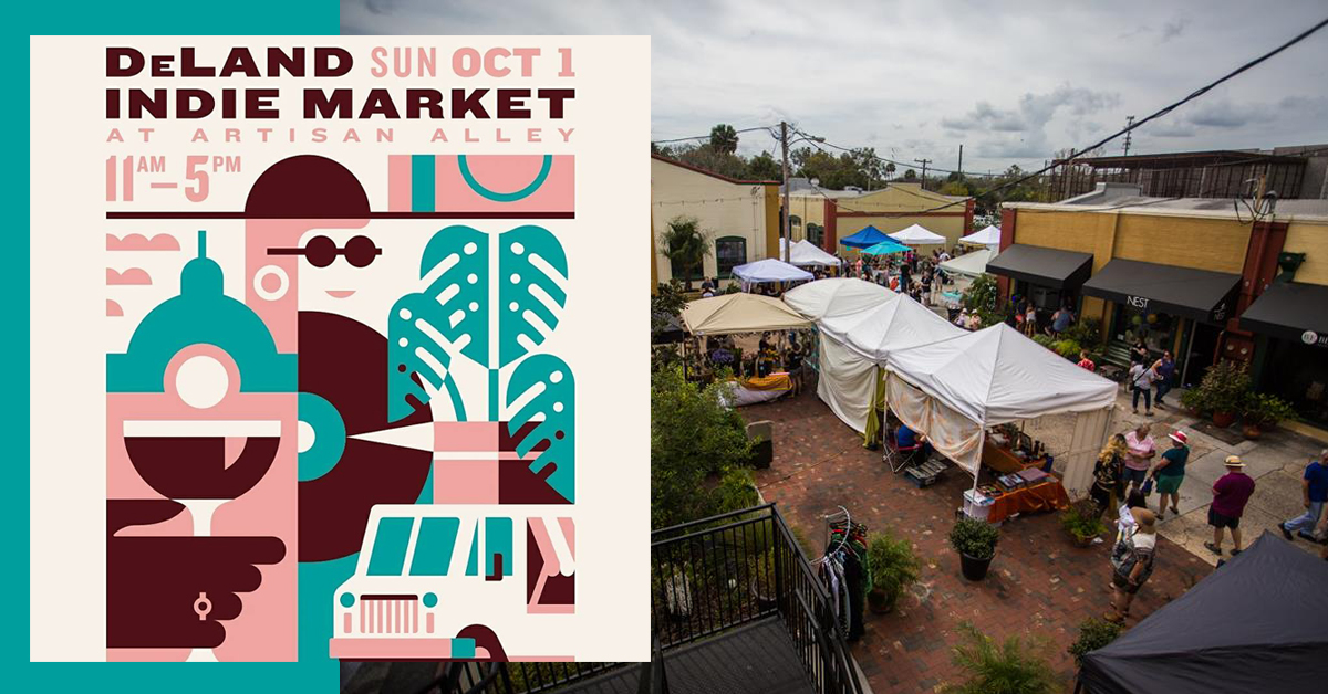 DeLand Indie Market at Artisan Alley Fall Edition