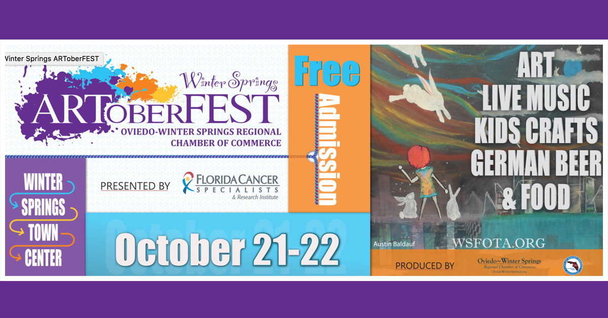 Winter Springs Artoberfest!