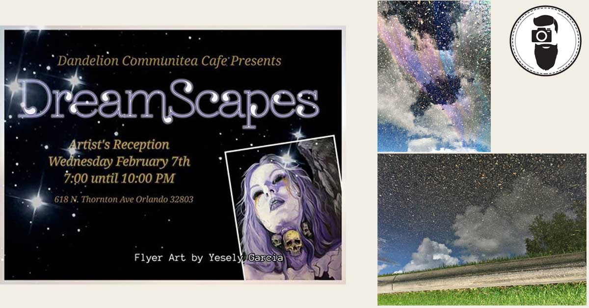 DreamScapes Art Show at Dandelion Communitea Cafe