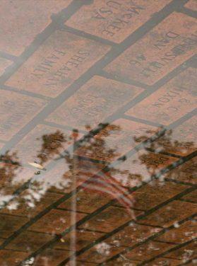 American Flag Cobblestone