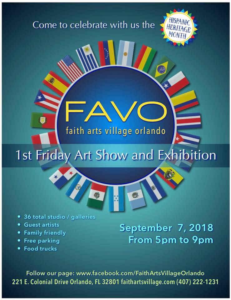 FAVO 1st Friday Art Show