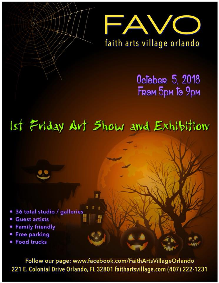 FAVO 1st Friday Art Show October