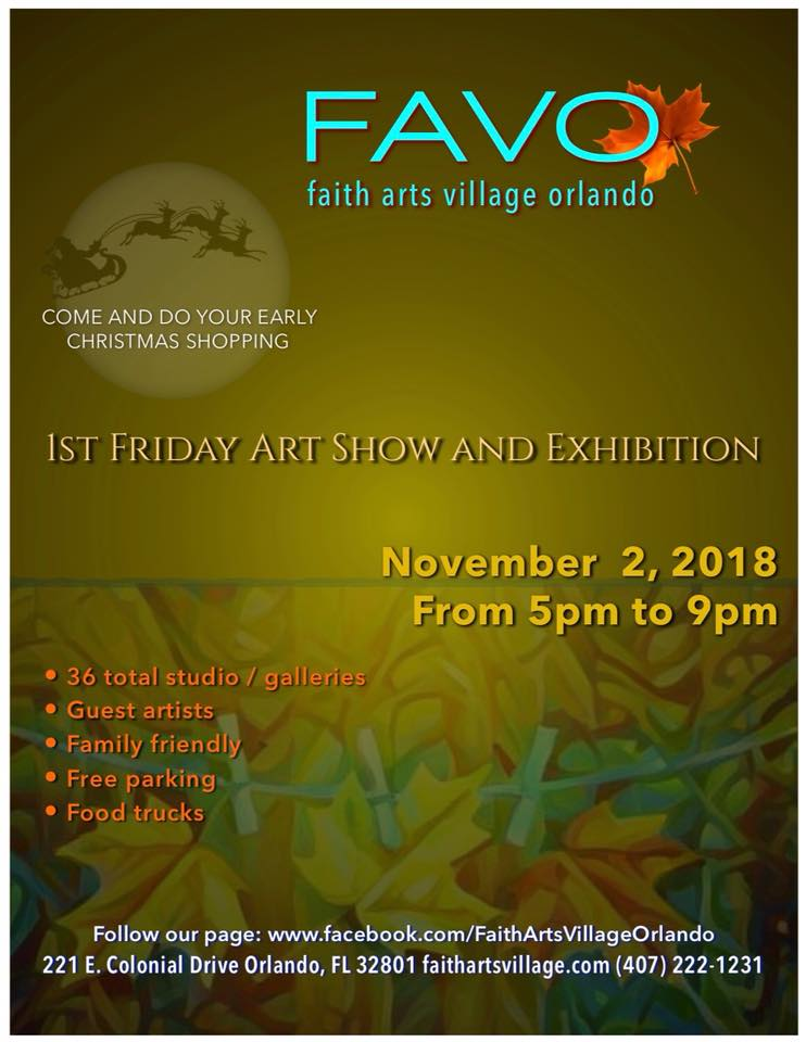 FAVO 1st Friday Art Show November