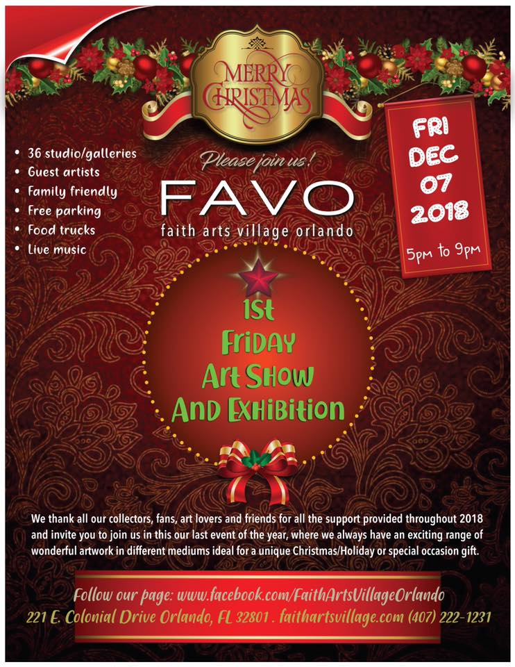 FAVO 1st Friday Art Show December