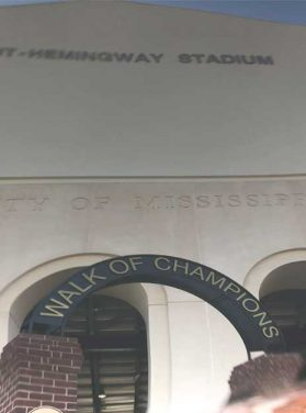 Vaught-Hemingway Stadium Walk of Champions