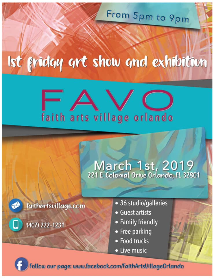 FAVO 1st Friday Art Show March