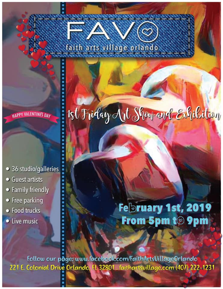 FAVO 1st Friday Art Show February 2019