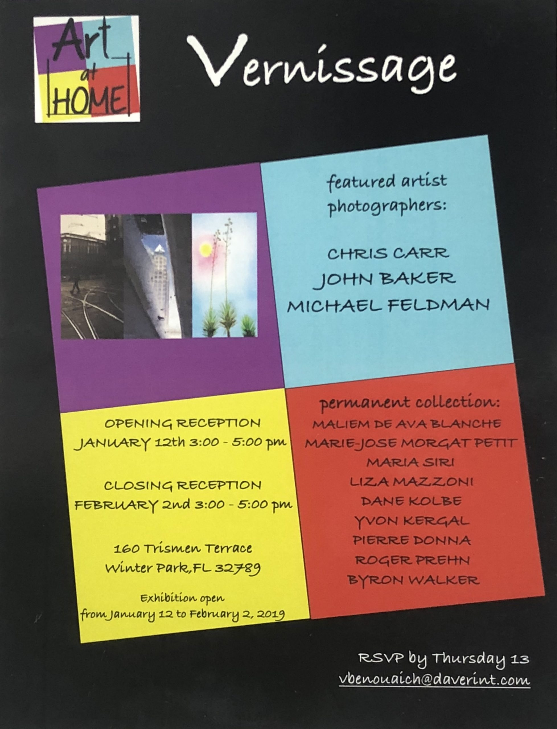 Art at Home – Vernissage – Opening Reception