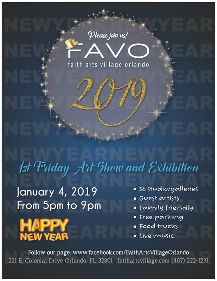 FAVO 1st Friday Art Show January 2019