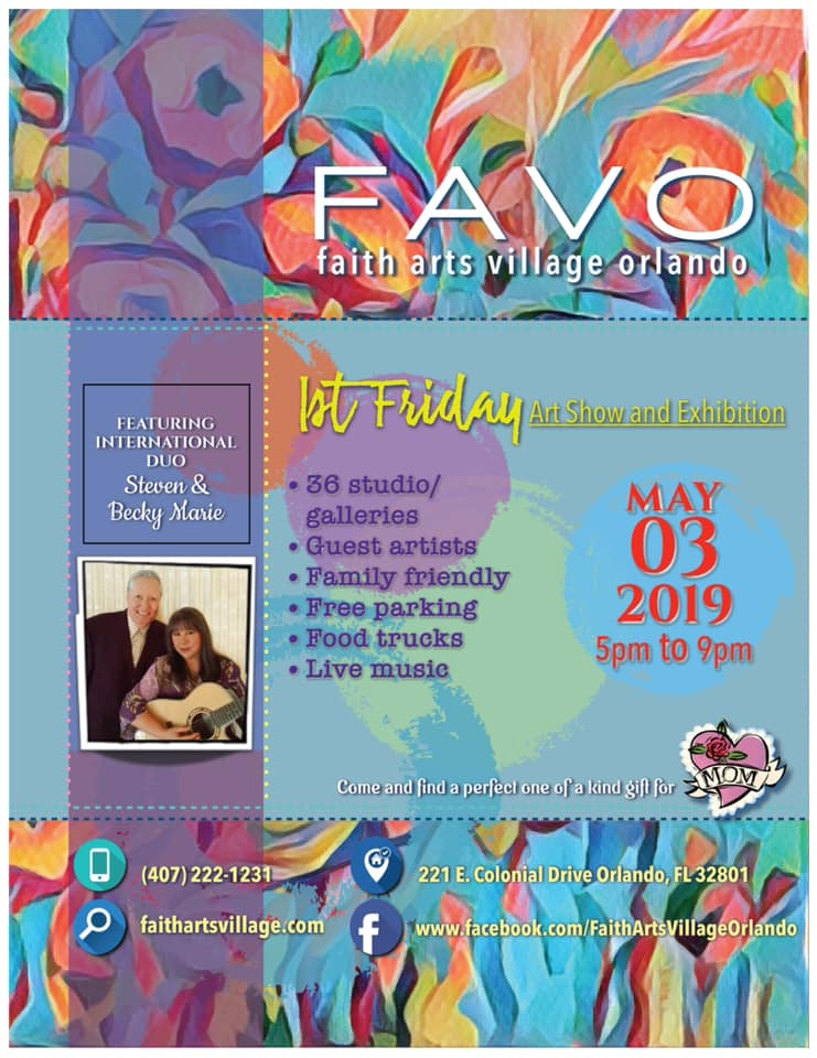 FAVO 1st Friday Art Show May