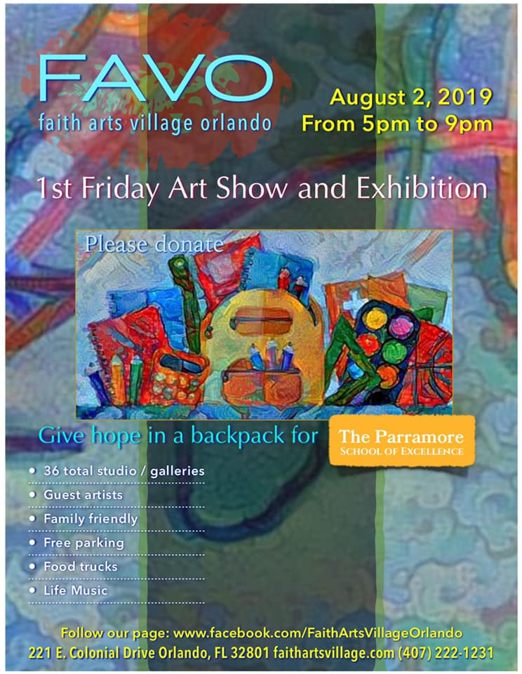 FAVO 1st Friday Art Show August