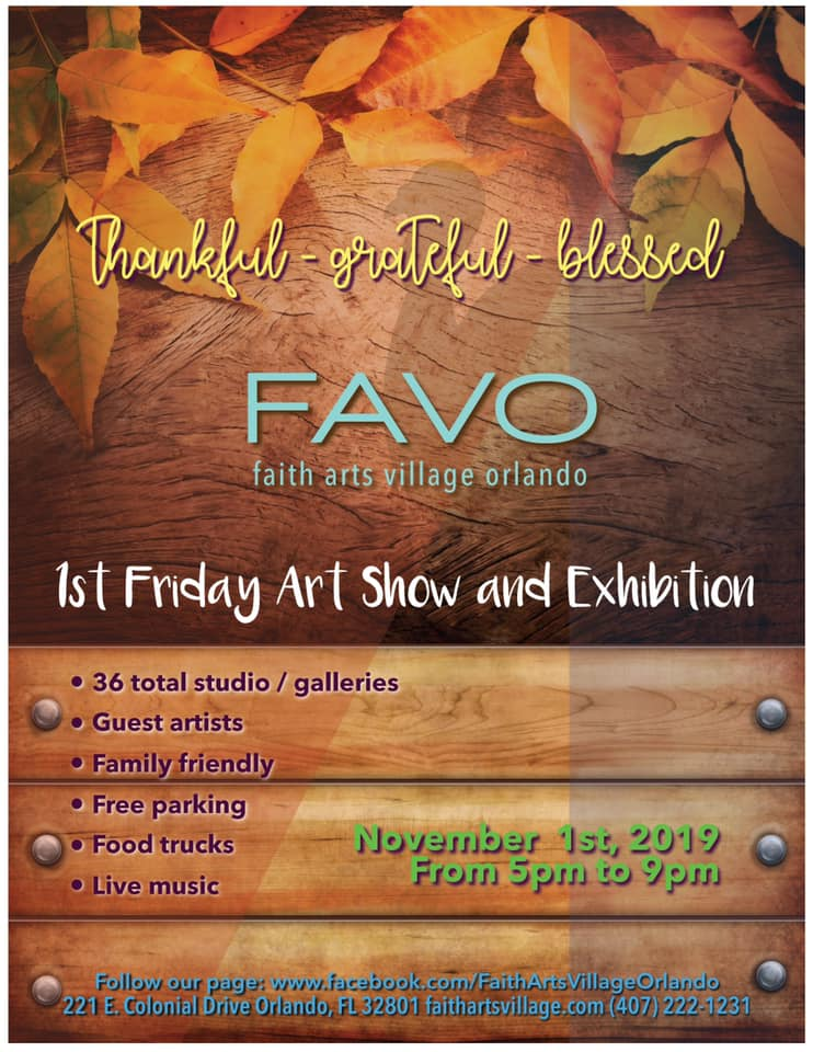 FAVO 1st Friday Art Show November 2019