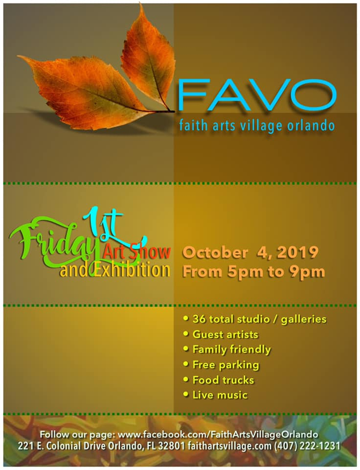 FAVO 1st Friday Art Show October 2019