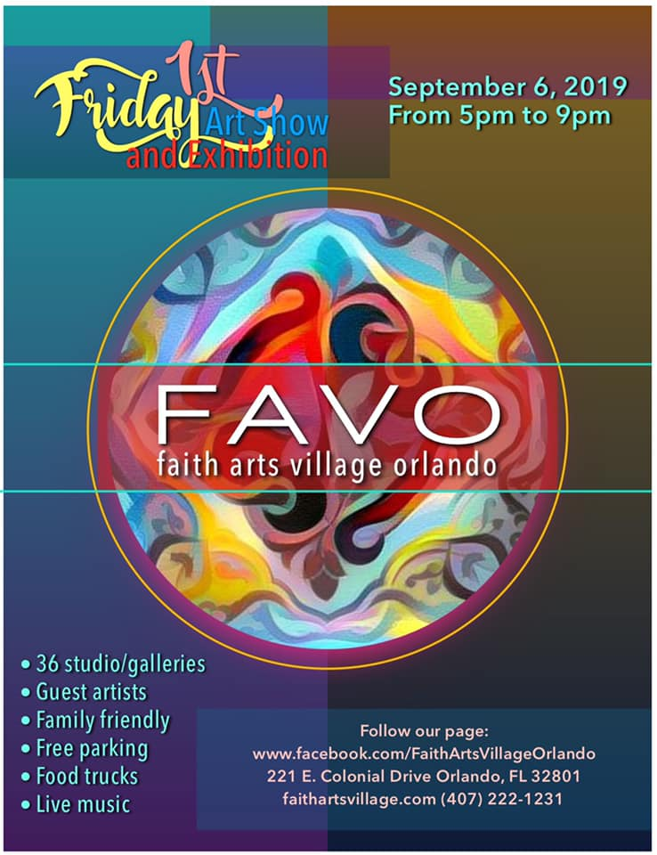 FAVO 1st Friday Art Show September 2019