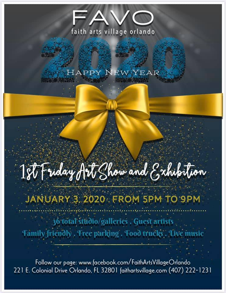 FAVO 1st Friday Art Show January 2020
