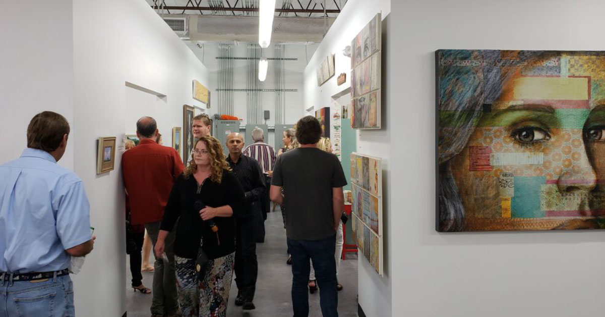 Spring Open House at McRae Art Studios