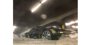 Porsche in the Garage