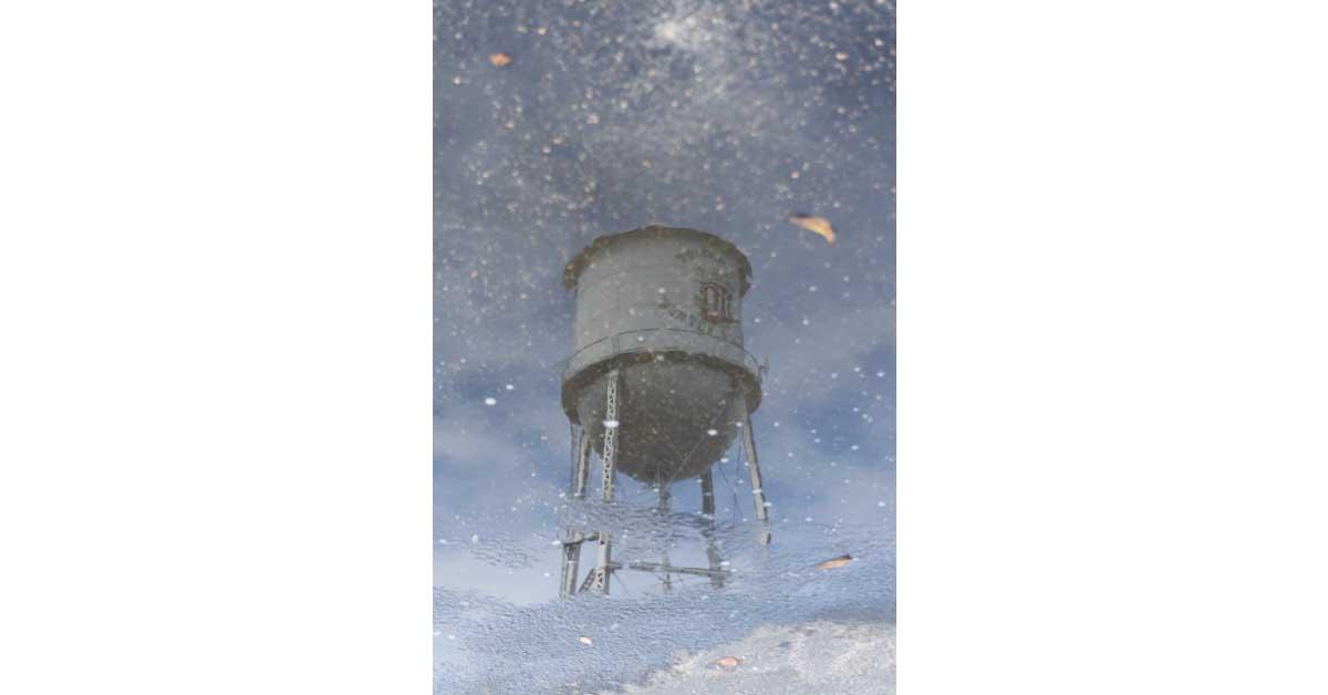 Winter Garden Water Tower