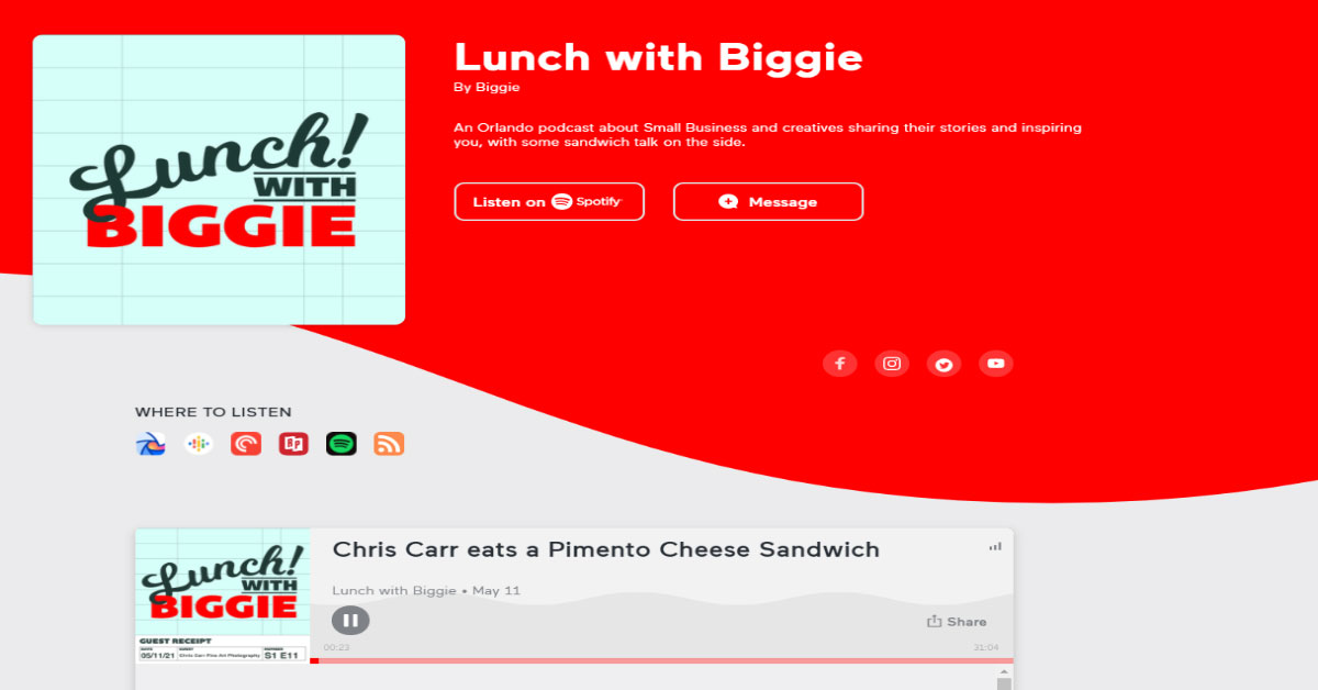 Lunch with Biggie Podcast