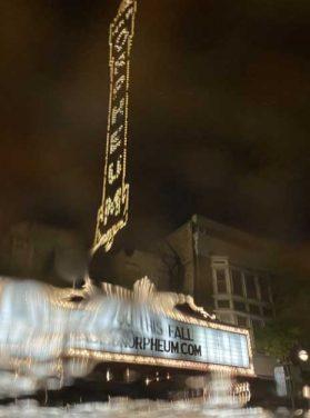 Orpheum Theater Night